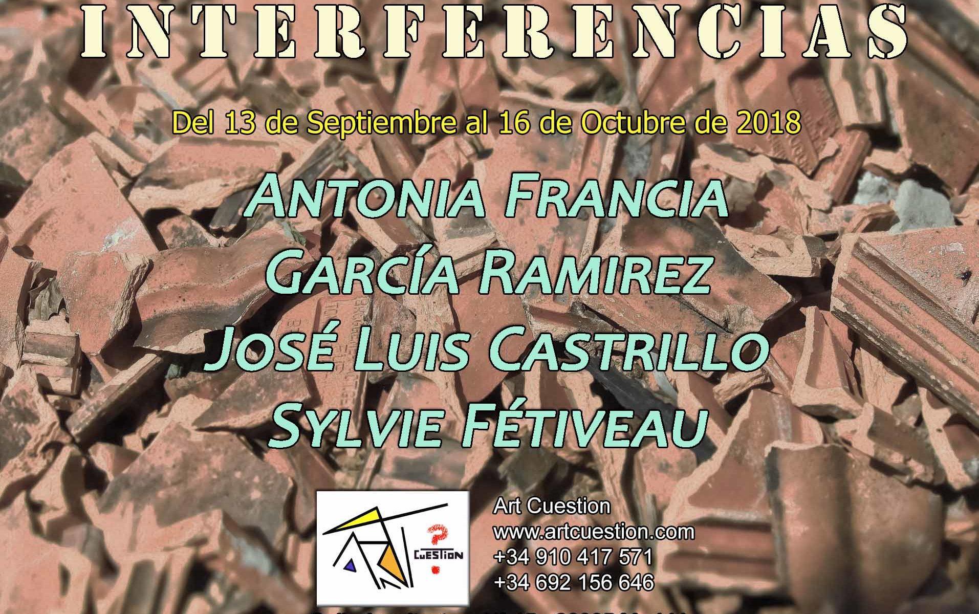 Exposición Colectiva INTERFERENCIA